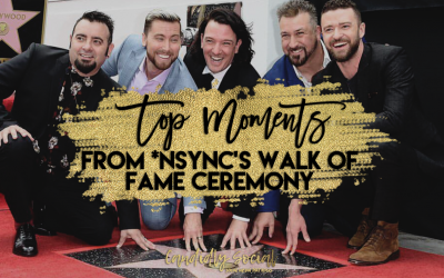 Top Moments from *NSYNC's Walk of Fame Ceremony